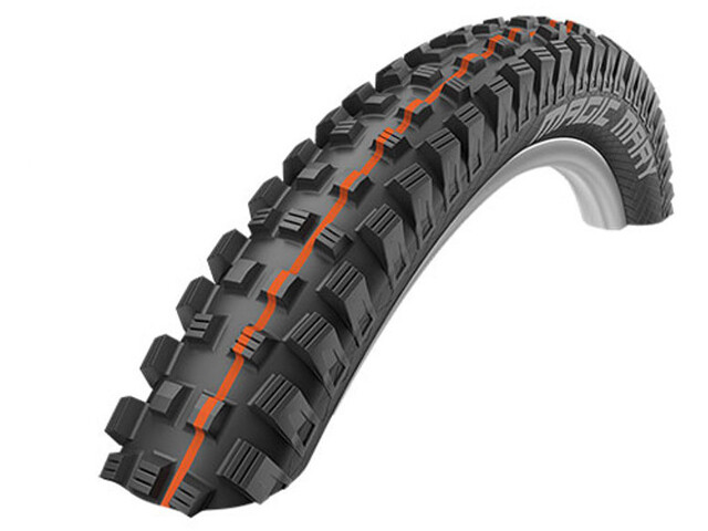 "SCHWALBE Magic Mary Evo Folding Tyre 27,5"" Addix Soft SnakeSkin TL-Easy, black"